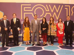 Ms. Fiza Farhan participated as panelist at the FOW - FUTURE OF WORK SUMMIT, Lahore, 2018